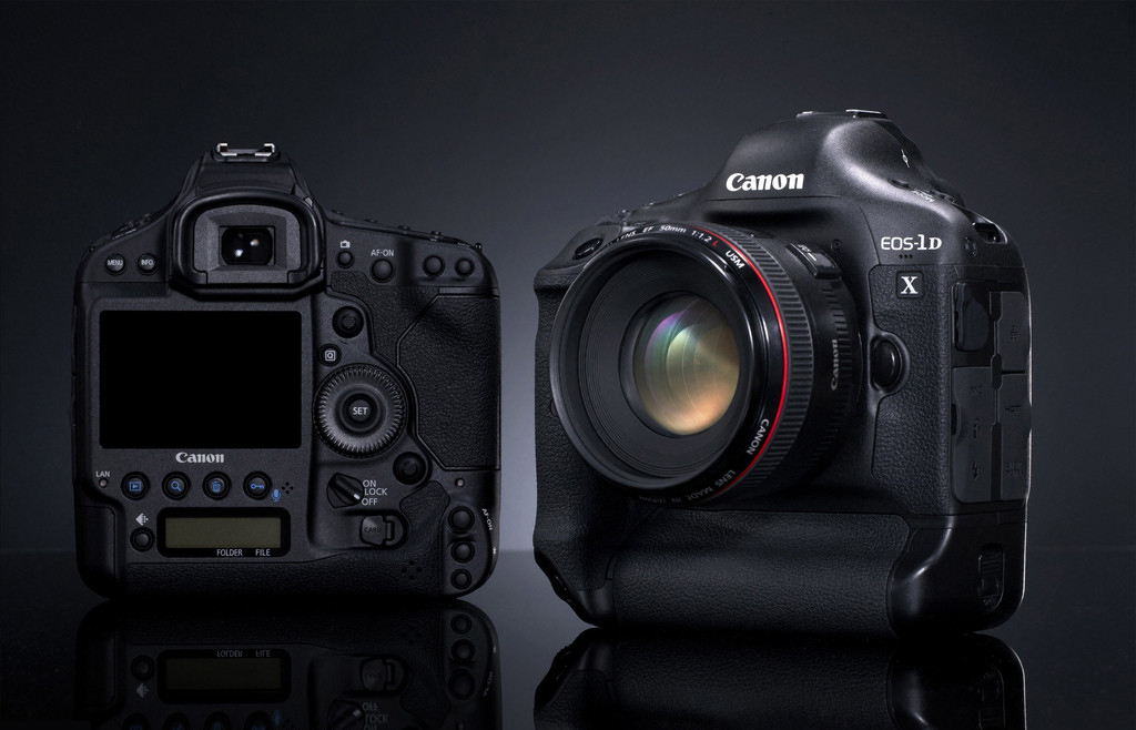 photo of Canon EOS-1D X camera