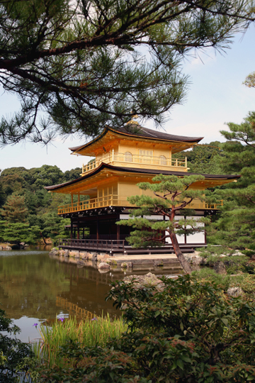 Travel Photography Asia - Golden Temple in Koyoto, Japan