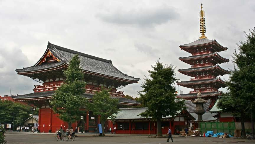 photo of Sensoji Temple, Japan