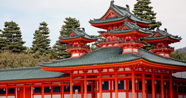 photo of shinto temple