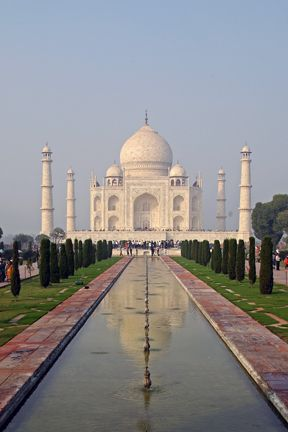 photo of the Taj Mahal, India