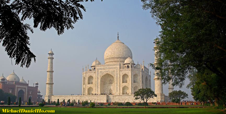 photo of the Taj Mahal, Agra, India