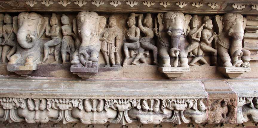photo of erotic temple, India